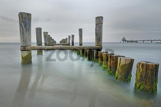 Alter Bootssteg, Dar§, Fischland-Dar§-Zingst, Ostsee-KŸste, Mecklenburg-Vorpommern, Deutschland, Europa