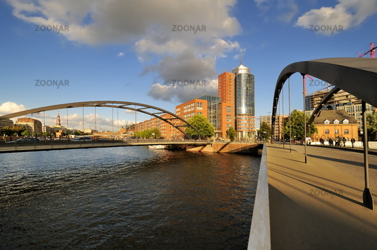 Hamburg, Germany, Hafencity with Hanseatic Trade Center