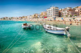 Beach of Giardini Naxos