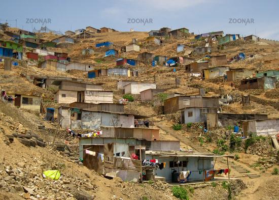 Shanty Town, Lima, Peru