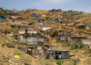 Armenviertel / Shanty Town, Lima, Peru