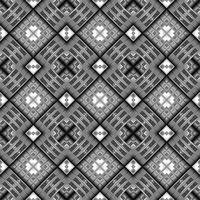 seamless texture of diagonal metal ornamental cubes