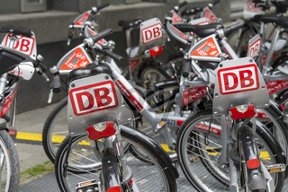 Fahrräder der Deutschen Bahn