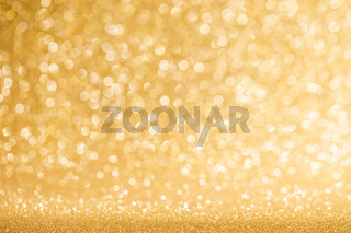 Shiny golden lights background