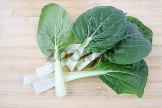 bok choy leaf