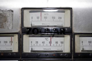 Control panel, Steuerpult
