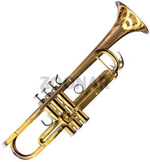 Trumpet cutout
