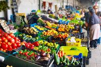 Farmers market. Porto, Portugal