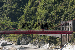 Brücke im  Nationalpark Taroko-Schlucht bei Hualien
