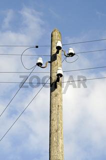 alte Elektrizitaetsleitungen