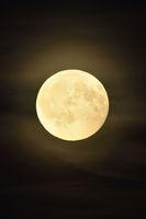 amber moon... full moon shining bright