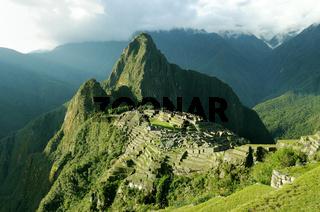 Ruine Machu Picchu Peru