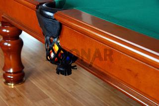 Balls in Billiards table pocket
