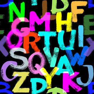 Seamless alphabet