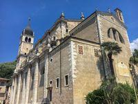 Catholic church in Arco, Italy