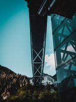A bridge in Hallstatt