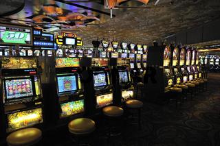 Spielautomaten, einarmige Banditen im 5 Sterne Hotel Mirage, las Vegas, Nevada, USA