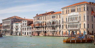 Iconic view of Venice Canal Grande