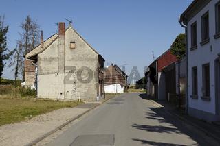 Immerath - Geisterdorf beim Braunkohletagebau Garzweiler