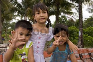 Vietnamesische Kinder