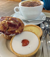Coffee and tartlets