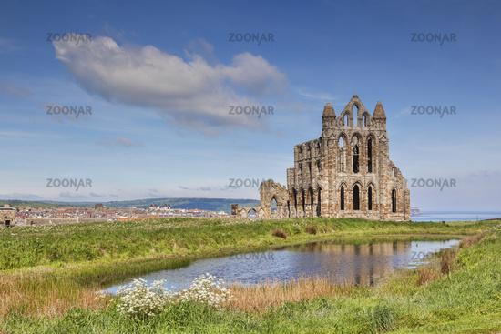 Whitby Abbey North Yorkshire England UK
