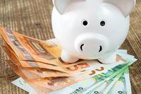 Financial success idea concept