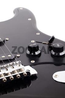Electric guitar control volume