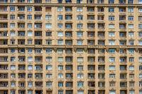 Facade of the block, Baku