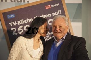 Veronique Witzigmann mit ihrem Vater Eckart Witzigmann