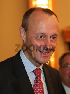 deutscher Rechtsanwalt und CDU Politiker Friedrich Merz beim Neujahrsempfang IHK Magdeburg 11.01.18