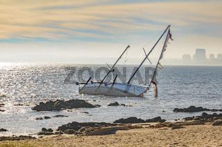 Abandoned Sailboat