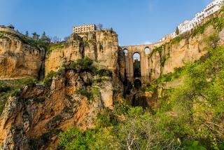 Puente Nuevo New Bridge in Ronda, Spain