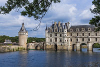 Chenonceau castle in the Loire Valley - France