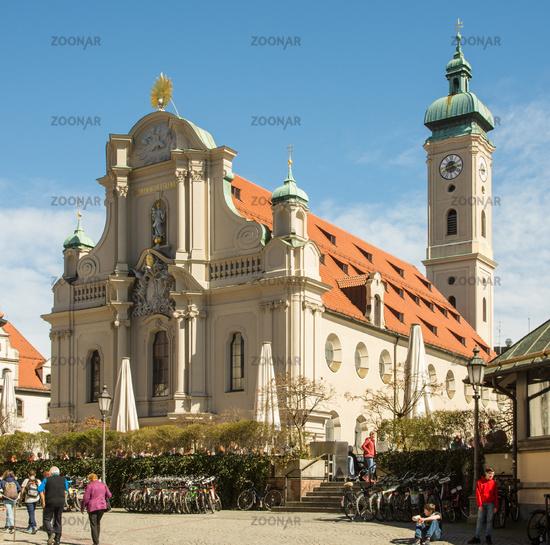Heilig-Geist-Kirche church in Munich