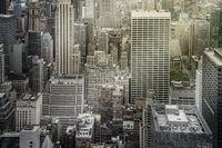 aerial New York Manhattan