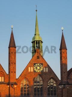 Heiligen-Geist-Hospital in Lübeck, Schleswig-Holstein, Deutschland