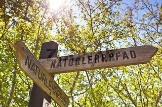 Educational nature trail Lobau Vienna
