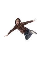 Junge springt wd711