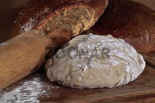 Brot und Teig
