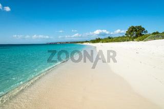 Beach of 'Bahia de las Aguilas'