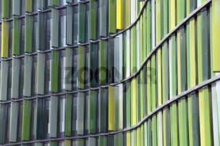 Cologne Oval Offices, modernes Bürogebäude am Gustav-Heinemann-Ufer, Köln-Bayenthal, Köln, Nordrhein-Westfalen, Deutschland, Europa