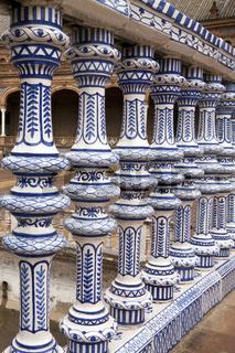 Kleine Säulen, Andalusien, Spanien