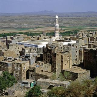 Moschee, Schibam, Jemen