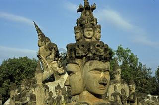 Buddhapark in Xieng Khouan, Vientiane, Laos