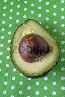 Avocadohälfte