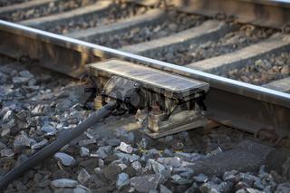 induktive Zugsicherung, Railroad tracks