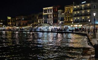 Hafenpromenade Chania, Kreta