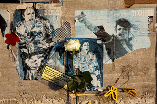 Memorial Wall for Michael Jackson, Cologne, Germany