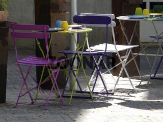 Strassencafe in Palma de Mallorca